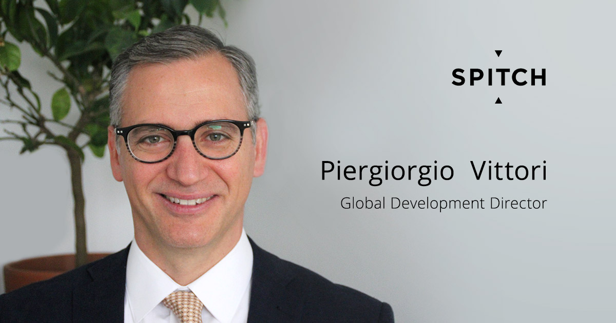 Piergiorgio Vittori joins Spitch as Global Development Director
