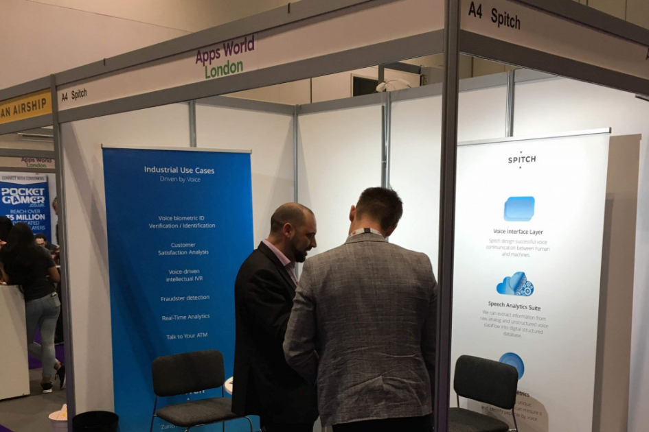 Spitch AG at Apps World London