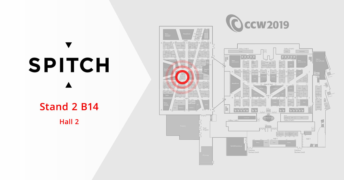 Welcome to Spitch at CCW 2019