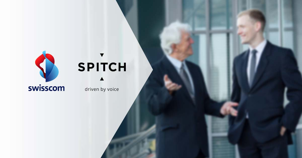 Spitch participation in Swisscom's Sales & Partner Networking Day 2018