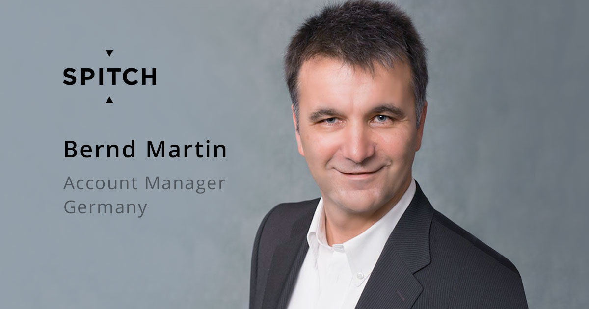 Bernd Martin Joins Spitch Team as Account Manager Germany