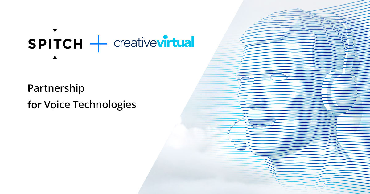 Spitch AG and Creative Virtual Announce Partnership