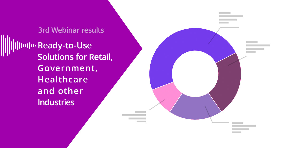 Webinar Participants See Prospects for Spitch Solutions in Retail, Government and Other Industries