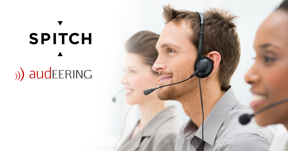 Spitch and audEERING emotion detection solution increases the satisfaction at both ends of the contact centre's line