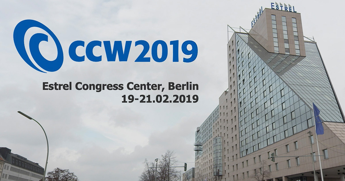 "Spitch's participation at CCW 2019 ""International Conference and Trade Show for innovative customer dialogue"""