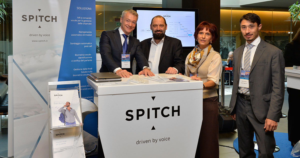 """Beneficially disruptive"" Spitch's solutions for Italian Bankers"