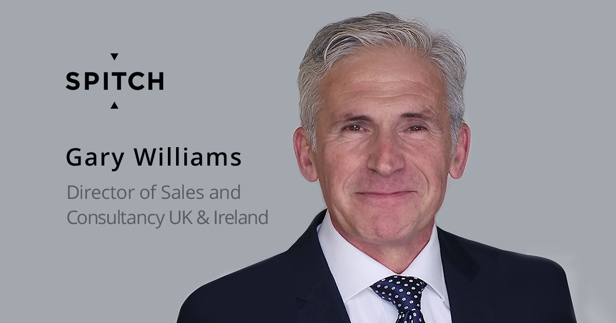 Gary Williams joins Spitch Team as Sales Director for the UK
