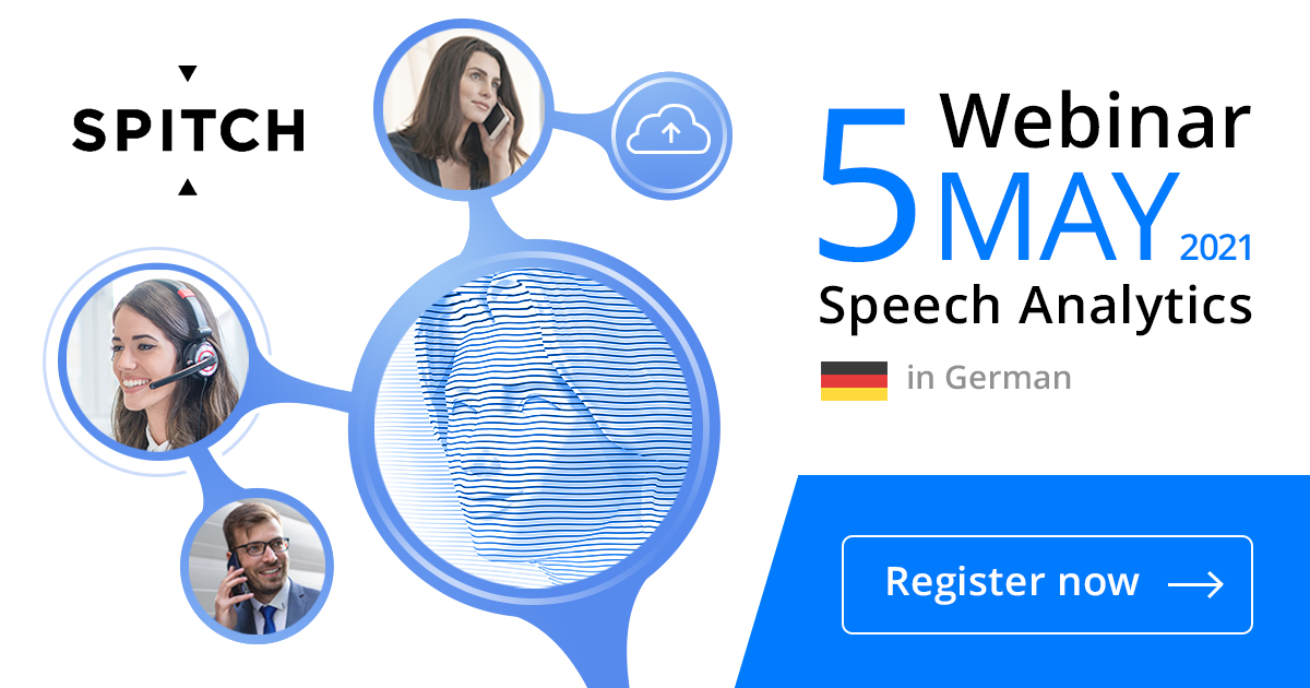 Spitch invites to webinar on Speech Analytics