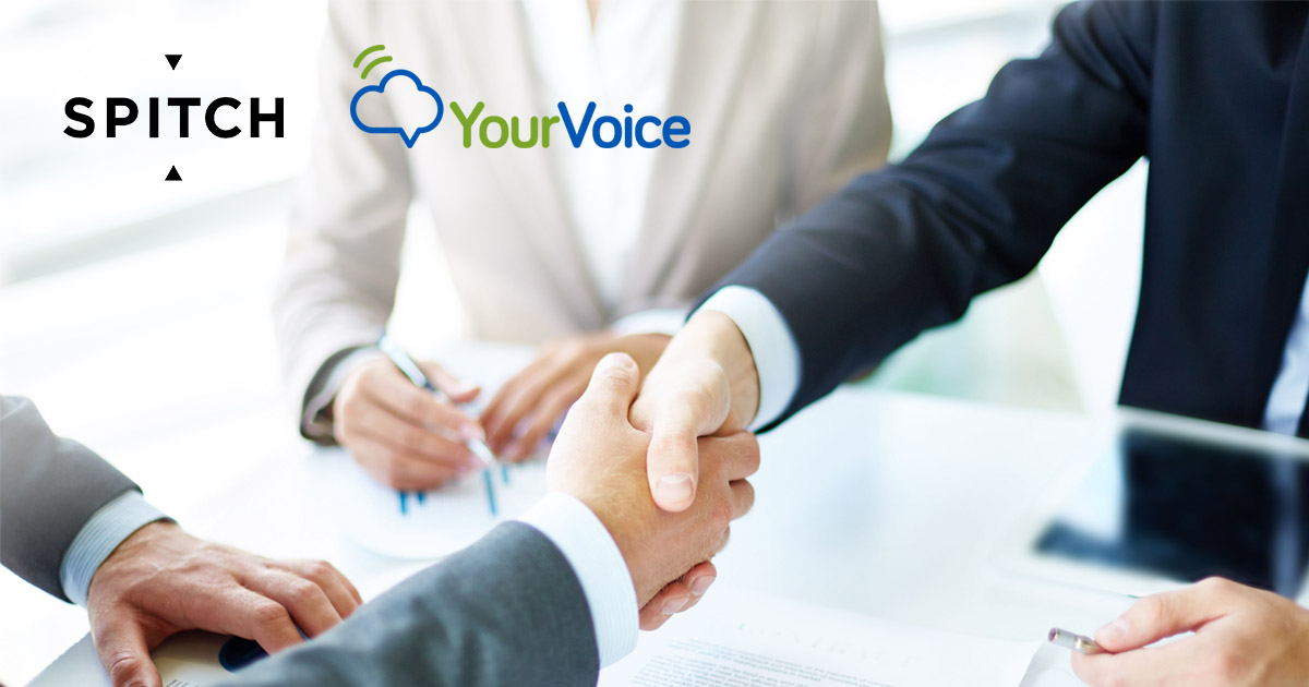 Your Voice and Spitch: a new partnership for a Voice Technology based Customer Experience