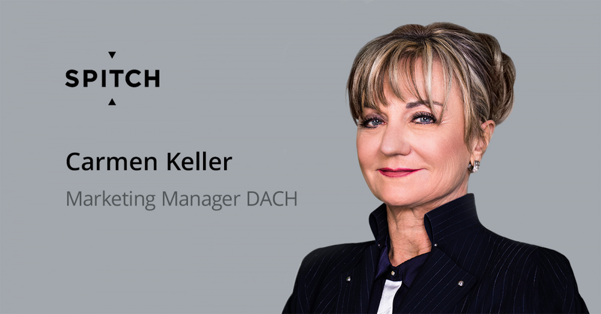Spitch is Expanding and Strengthening Marketing in the DACH Region: Carmen Keller Takes over as Marketing Manager at Spitch