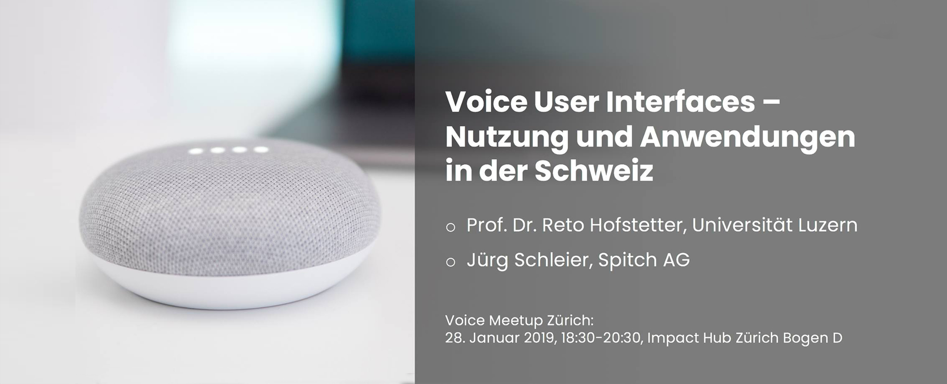 Speech Recognition for Swiss German at Voice Meetup Zurich
