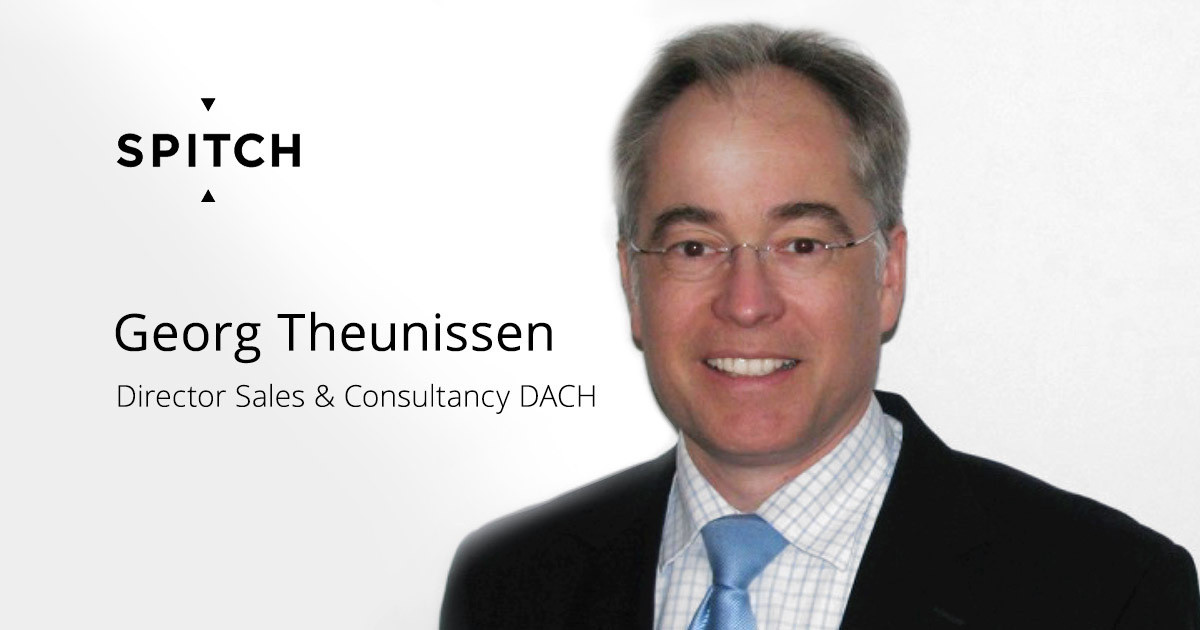 Georg Theunissen joins Spitch team as Director Sales & Consultancy DACH