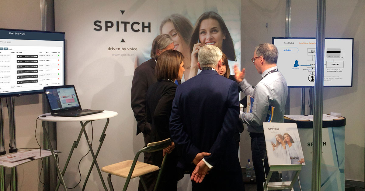 """Digital People – Digital World"" – Spitch unveiled the future of Contact Centres at the Call & Contact Centre Expo 2019"