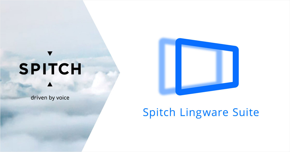 Spitch Lingware Suite makes speech technologies easily available to everyone