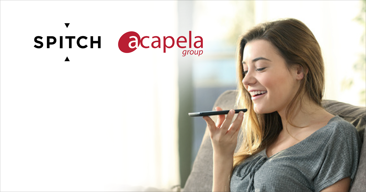Spitch and Acapela Group join their expertise to create a completely automated Voice-Driven IVR
