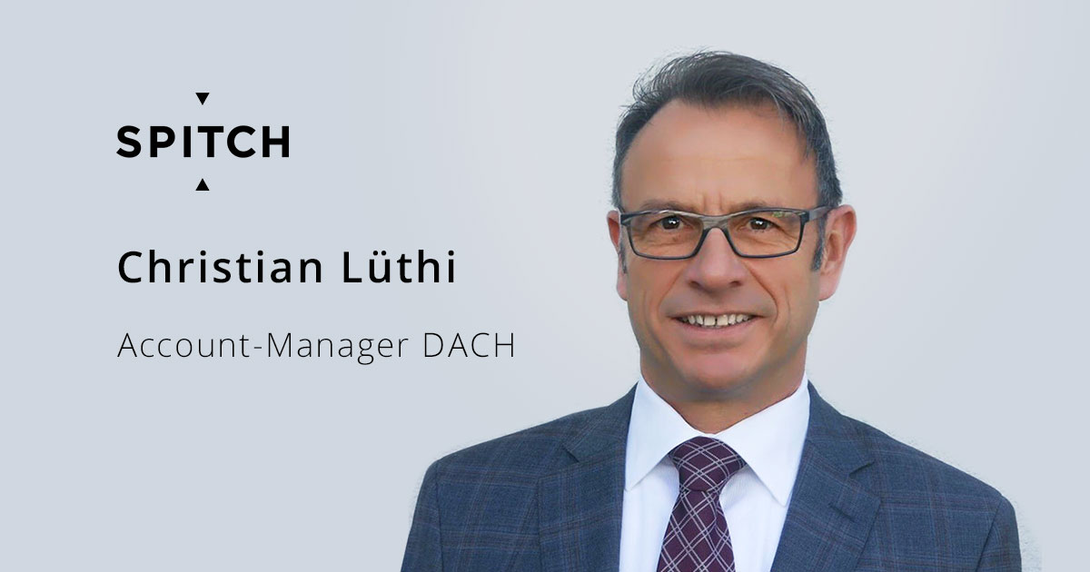 Christian Lüthi joins Spitch team as Account-Manager DACH