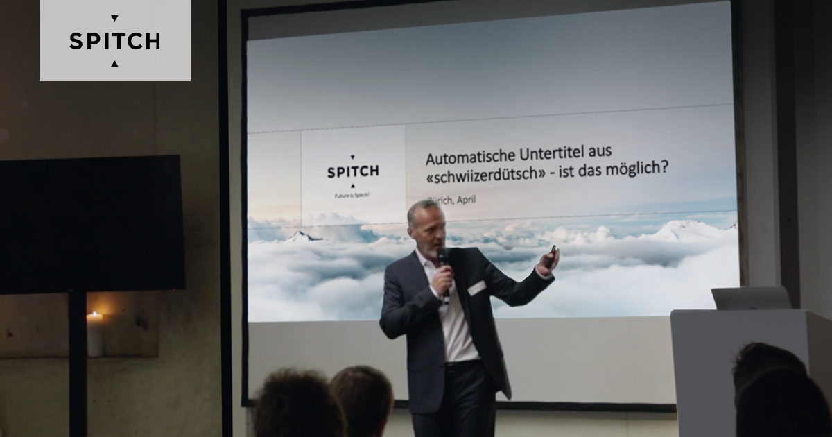 The future is coming by Spitch: An 80% effort reduction and improved accuracy for the production of subtitles from Swiss German to High German